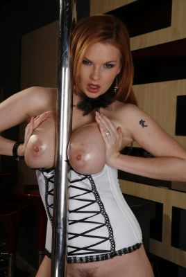 The queen Tarra White is online on Super Glam Babes. It does not need any other words.