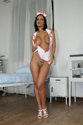Angelica Black is ready to assist you. After her treatment you will be cured and ... horny.